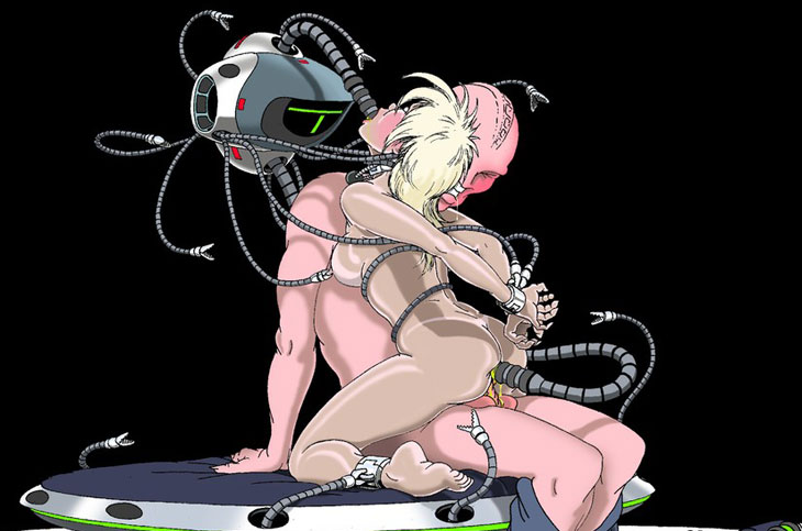 galactic girls SciFi sex picture